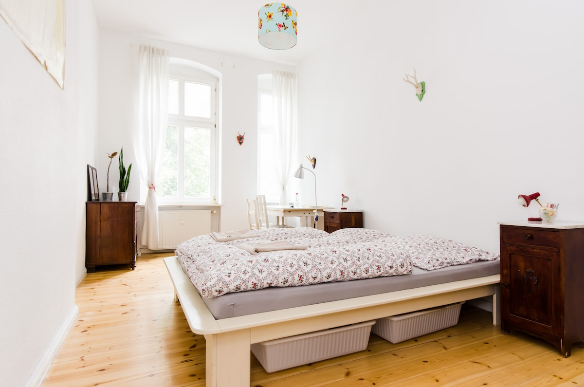 Your 16m2 private bedroom