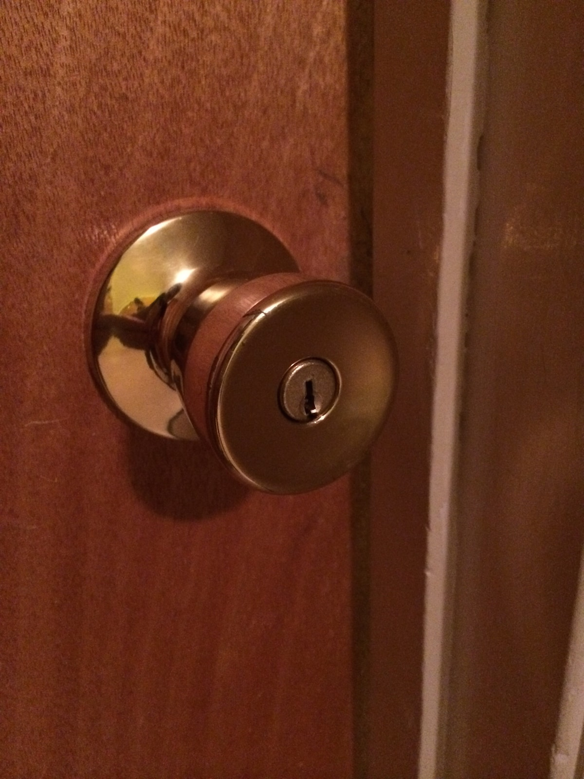 Feel free to lock your room.
