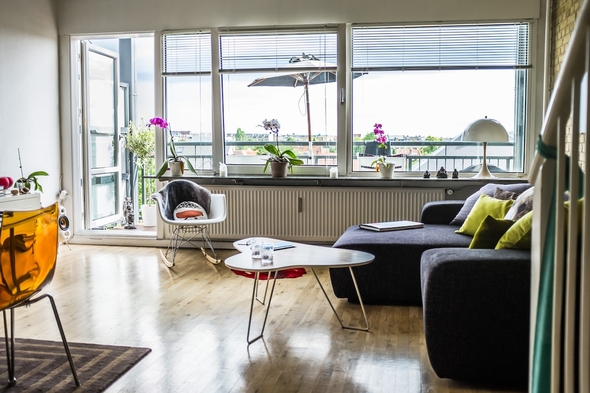 2 pers. sunny apartment