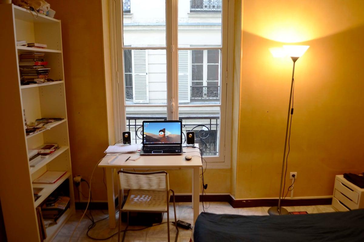 A Room in Paris 10th arrondissement