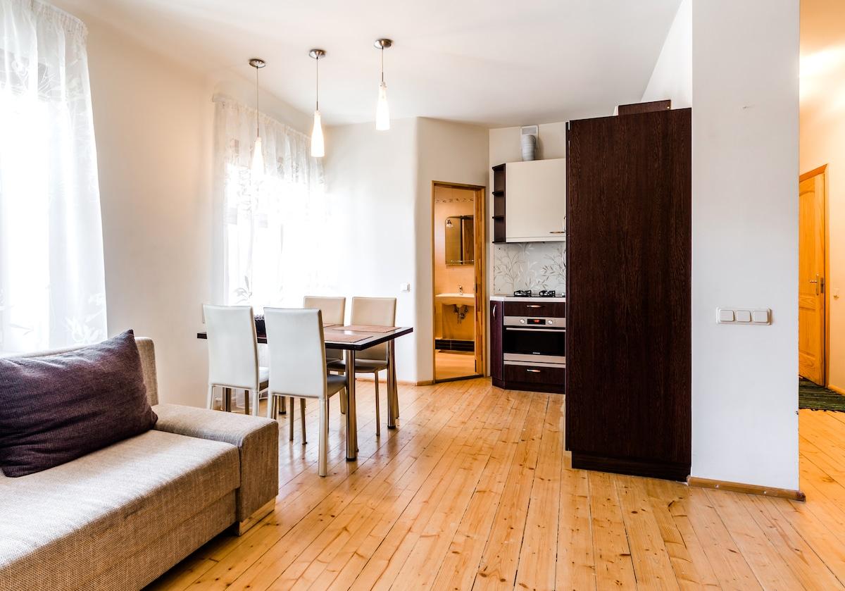 2 room studio in the center of Riga