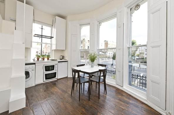 Chic studio flat in Notting Hill