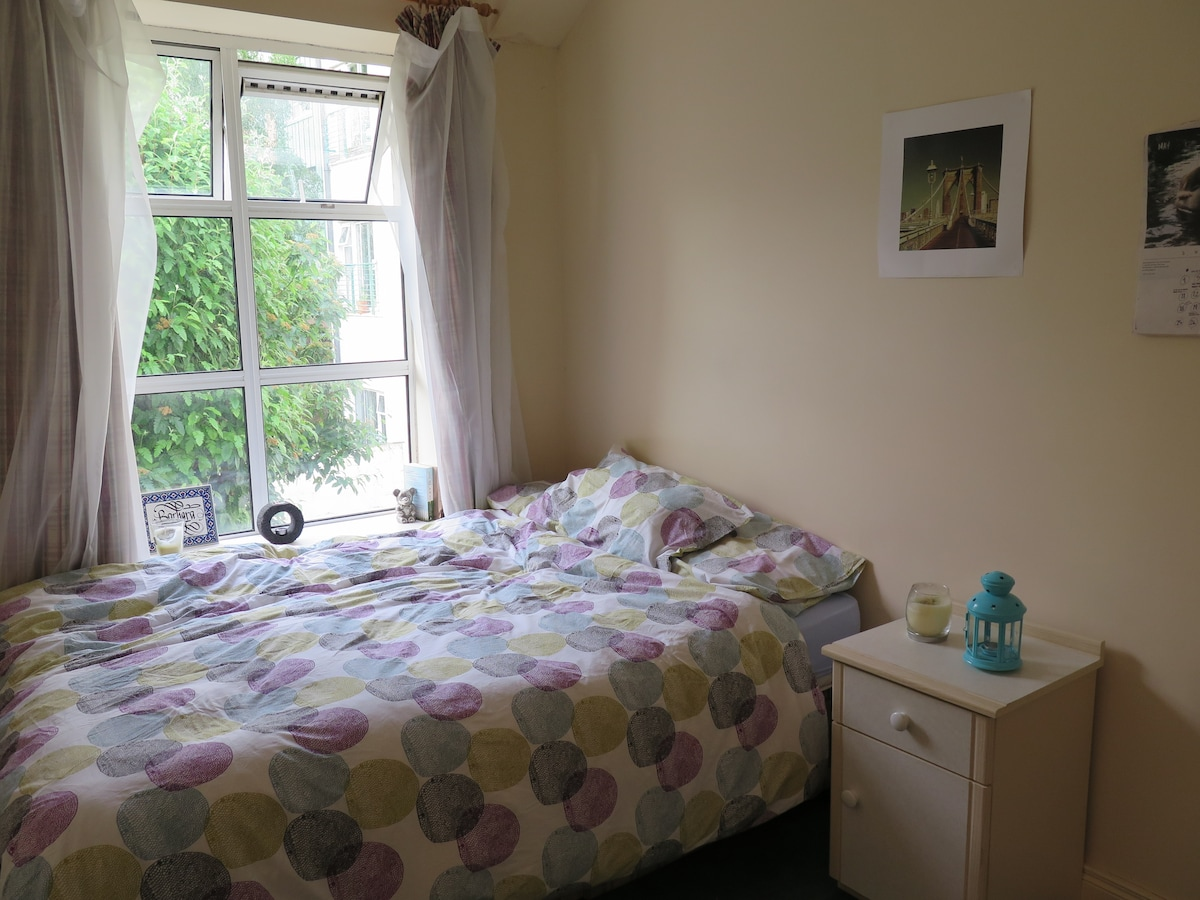 Spacious and comfortable double bed