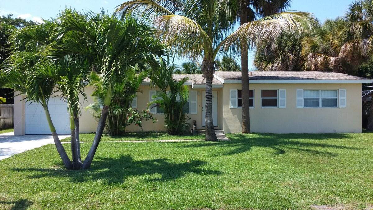 Florida Quiet Beachside Home