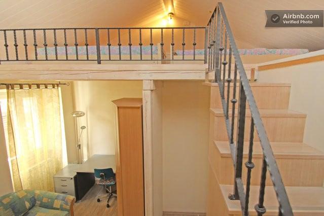 Charming room with mezzanine