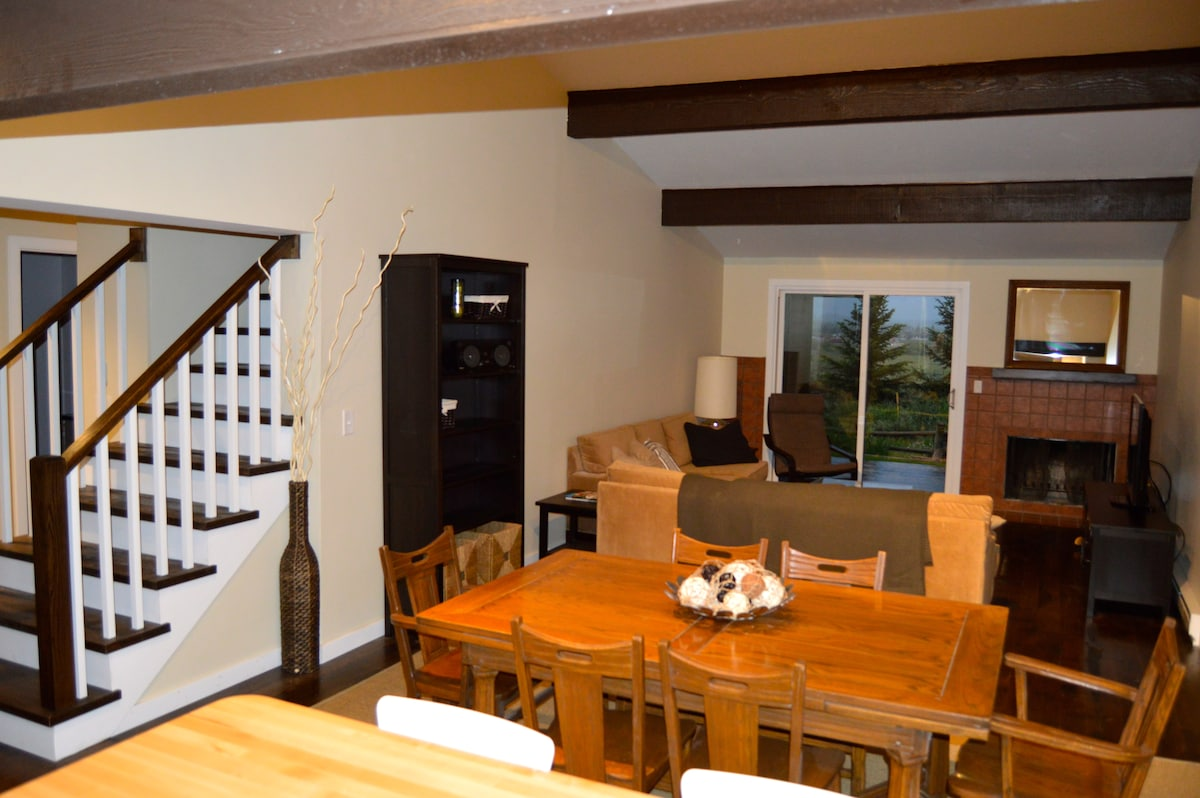 -Dining and TV areas - Stairway to second floor