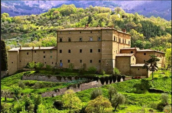 Your very own Tuscan castle!