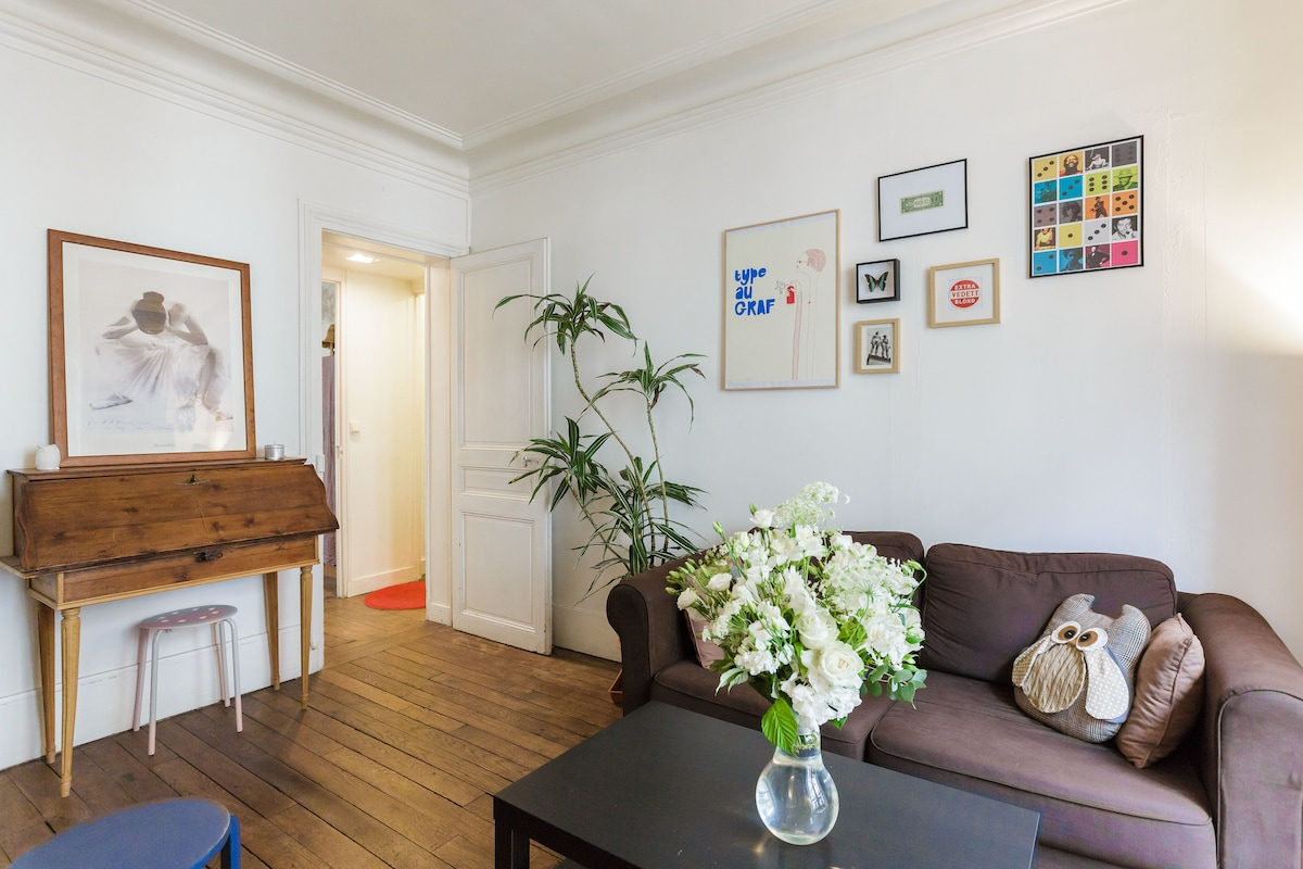 Charming apartment near Bastille