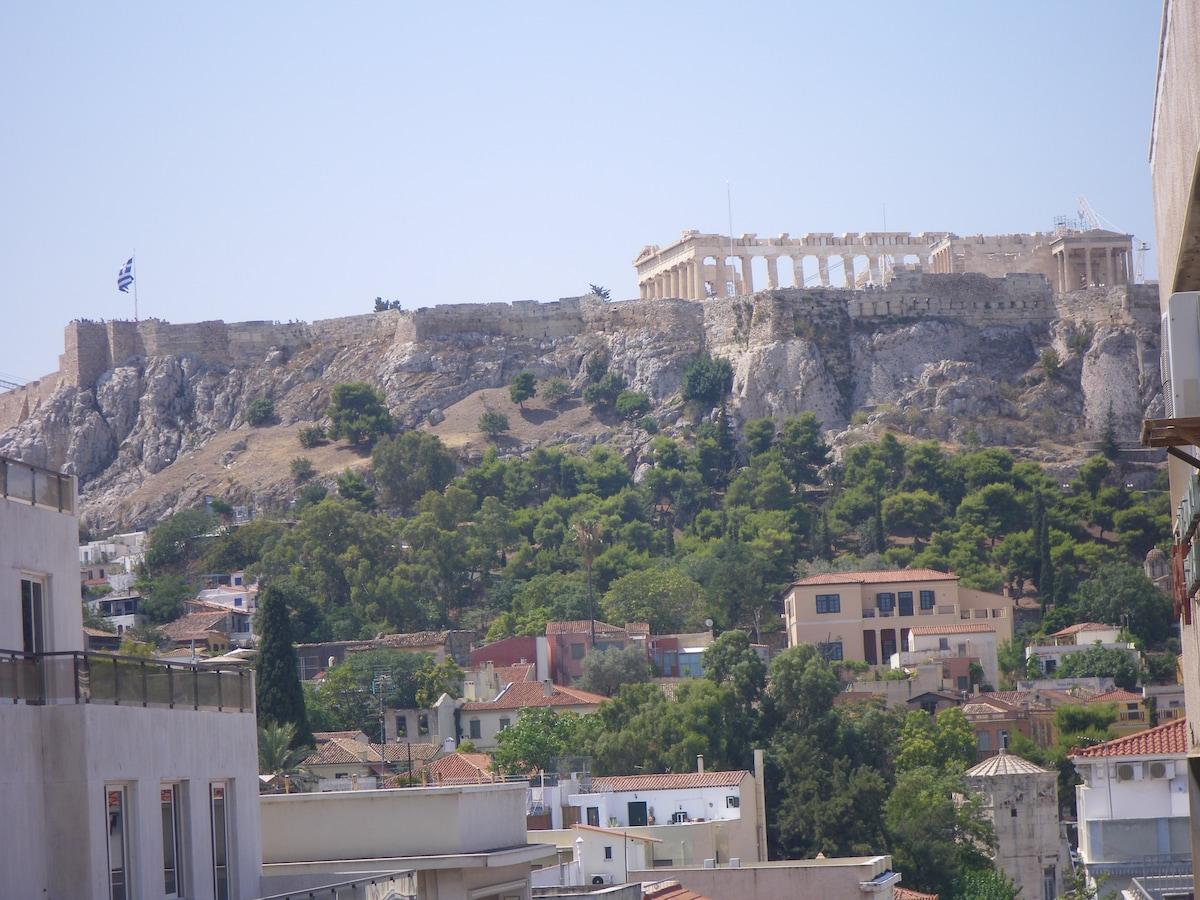 Apartment in Athens, Acropolis View