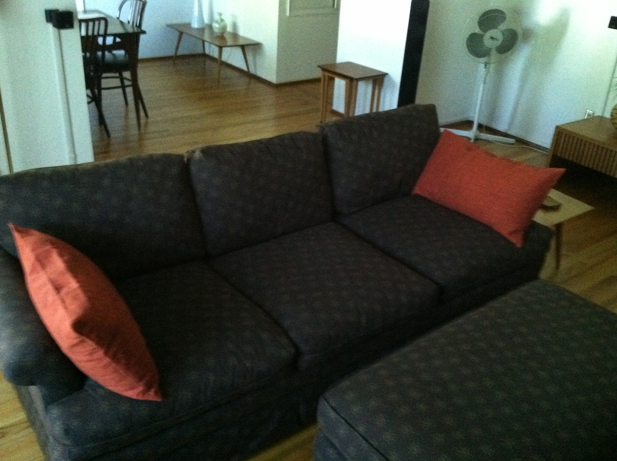 Comfy Henderdon couch.