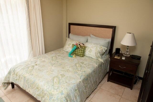 3rd bedroom has patio doors w/ private balcony and closet organizer