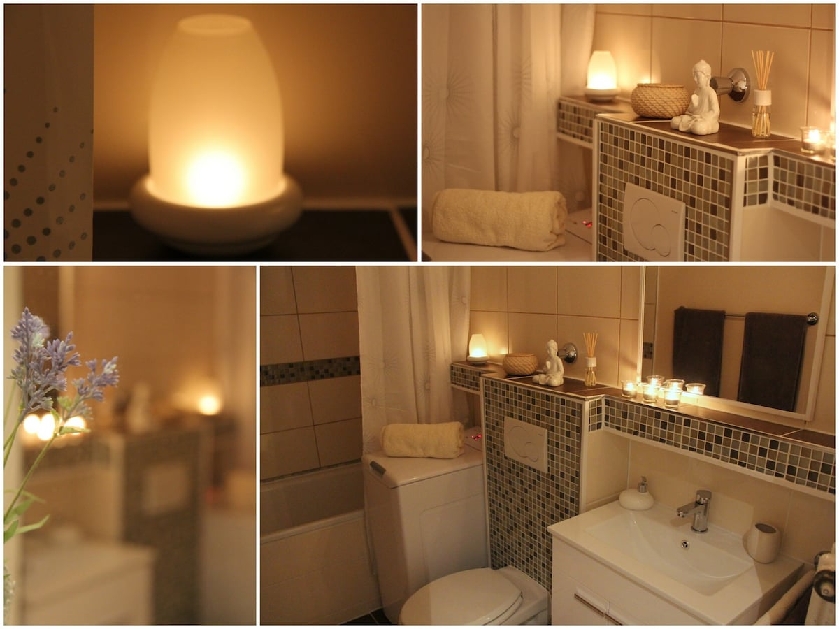 Beautiful and relaxing bathroom