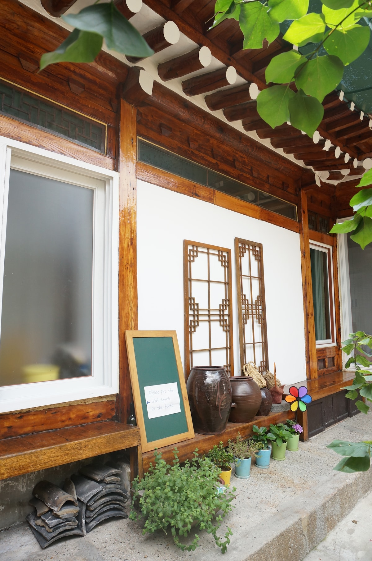Hanok stay in Dongdaemun DAL room