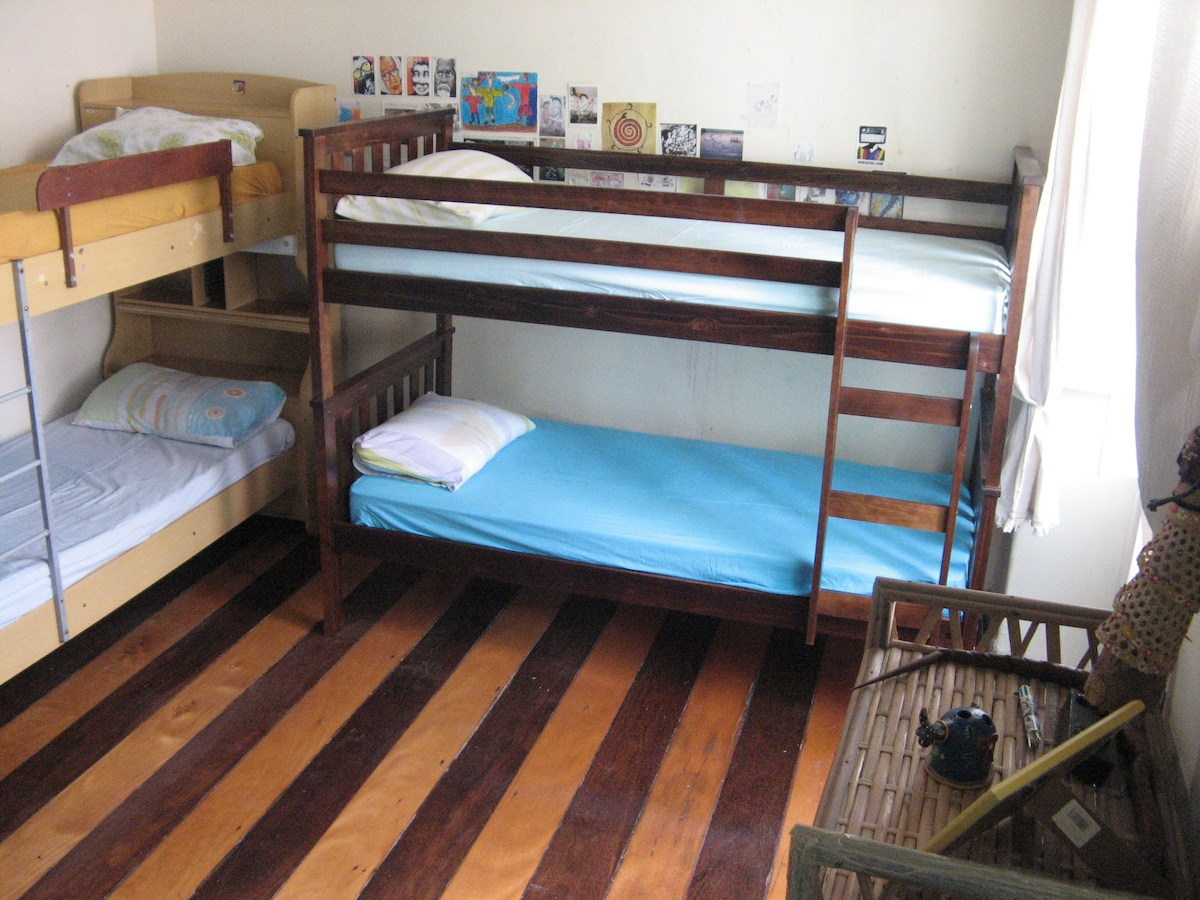 The dorm as it looked during the 2014 World Cup.