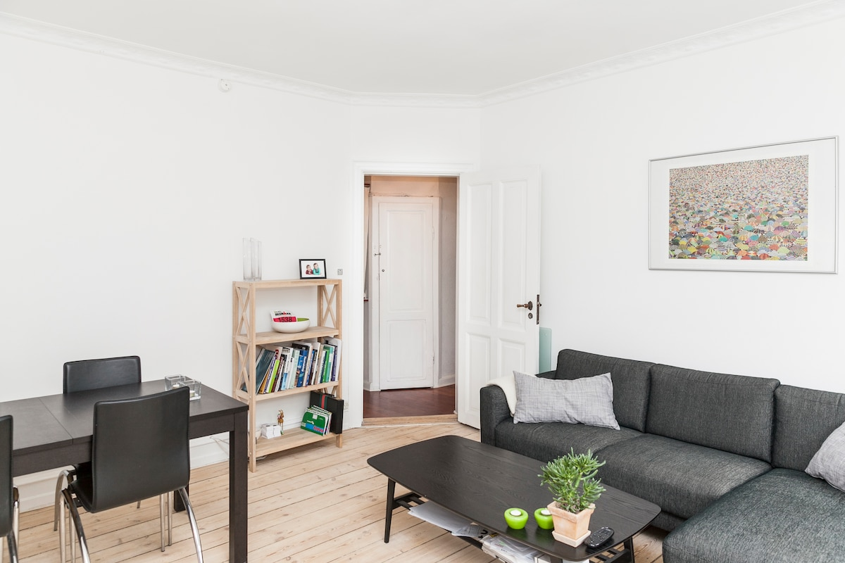 Cosy appartment at Frederiksberg