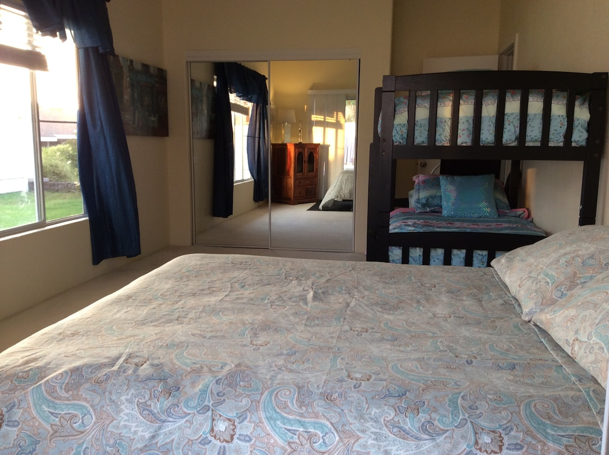 """You are viewing my listing for """"Shared Room"""".  This spacious """"Shared Room"""", can be reserved at $49.00 per-person, per-night.  Sleeps up to 3 guest comfortably."""