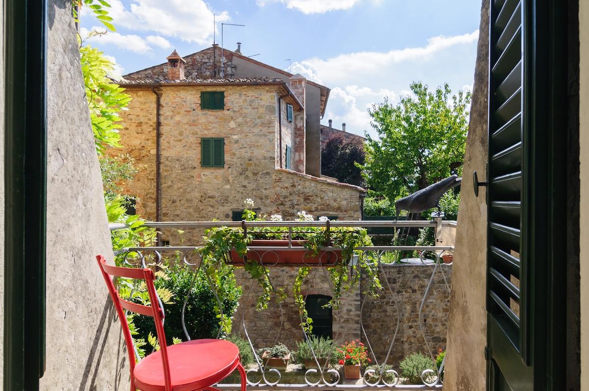Tuscany, Casa Pei - Girasole room