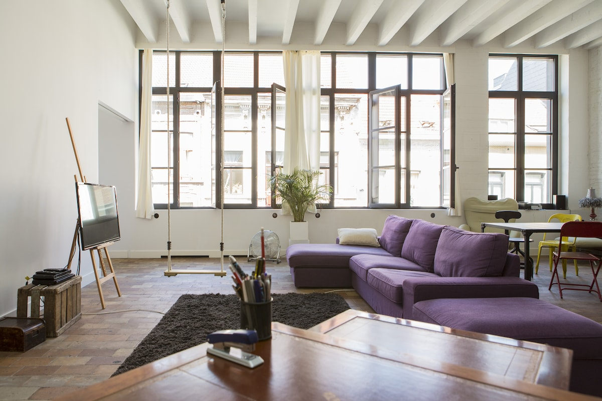 Gorgeous loft in the heart of Bxl