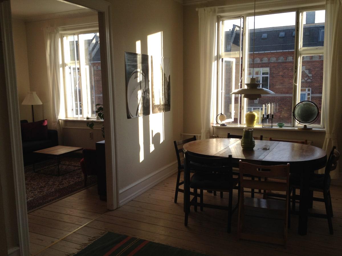 Beautiful apartment on Vesterbro
