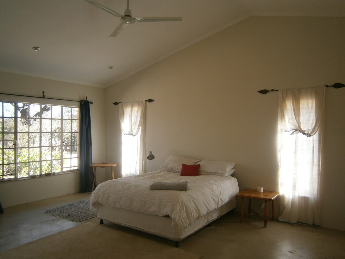 A room at the foot of Kgale Hill