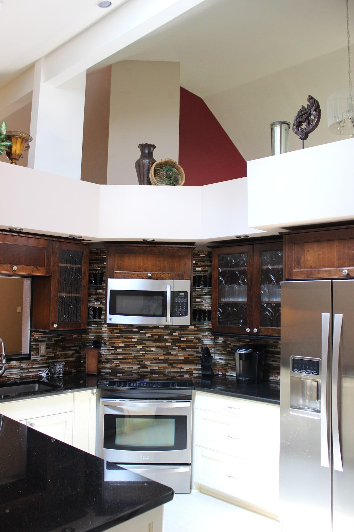 Beautifully updated kitchen.
