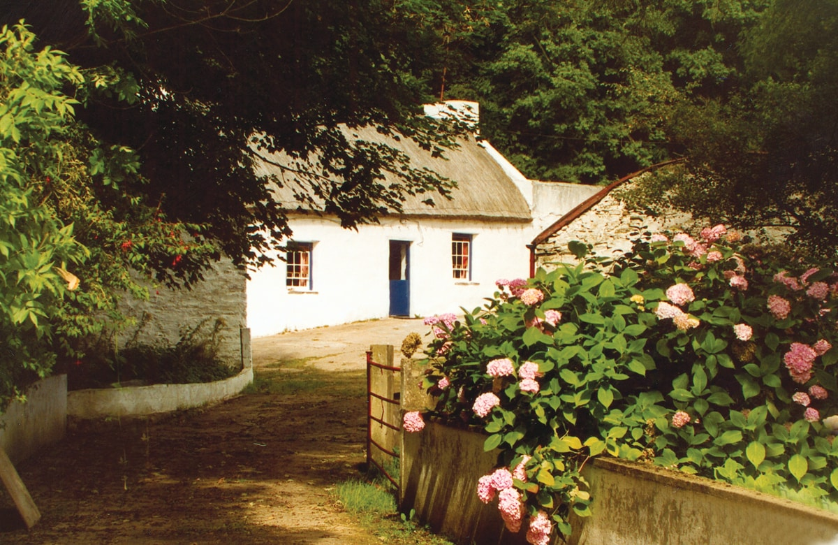 Graham's Irish Thatched Cottage.