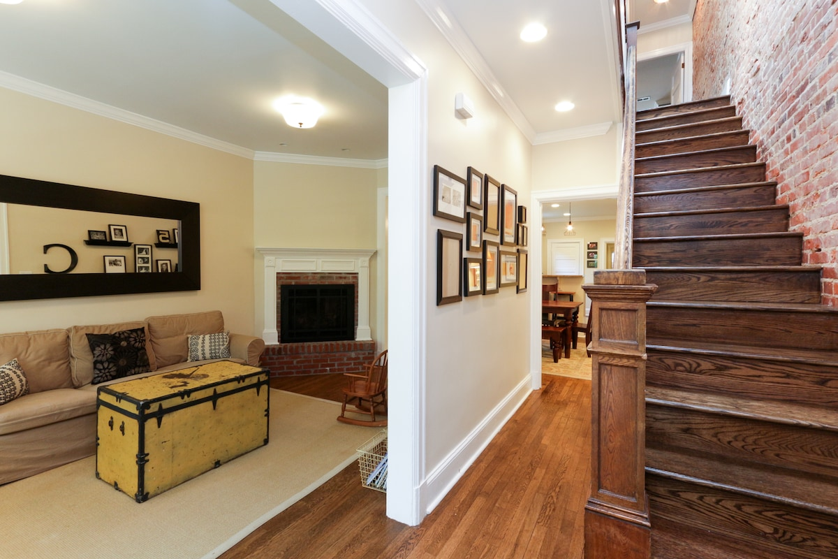 Stunning 4BR Capitol Hill Row House
