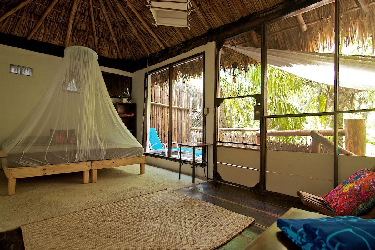 Jungle Beach Cottage in Tulum MX