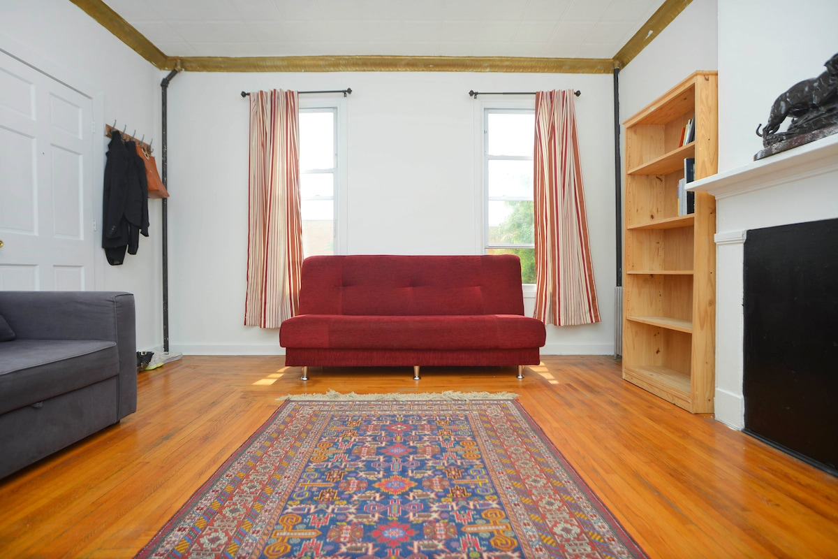 Peaceful Apartment in South Slope