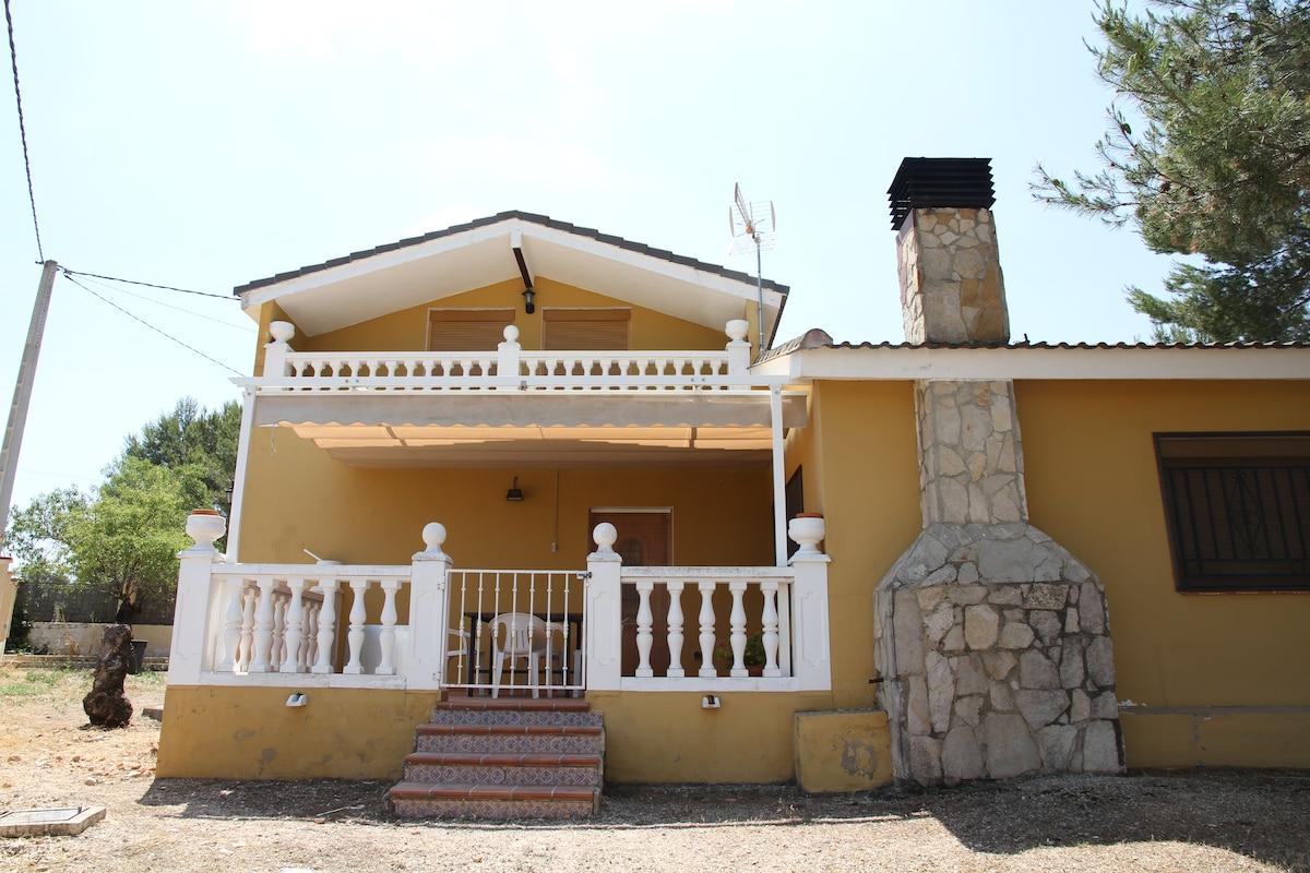 Casa Familiar con Piscina Barbacoa
