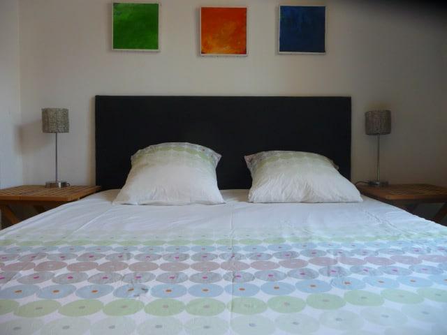 Gayfriendly large bedroom in center