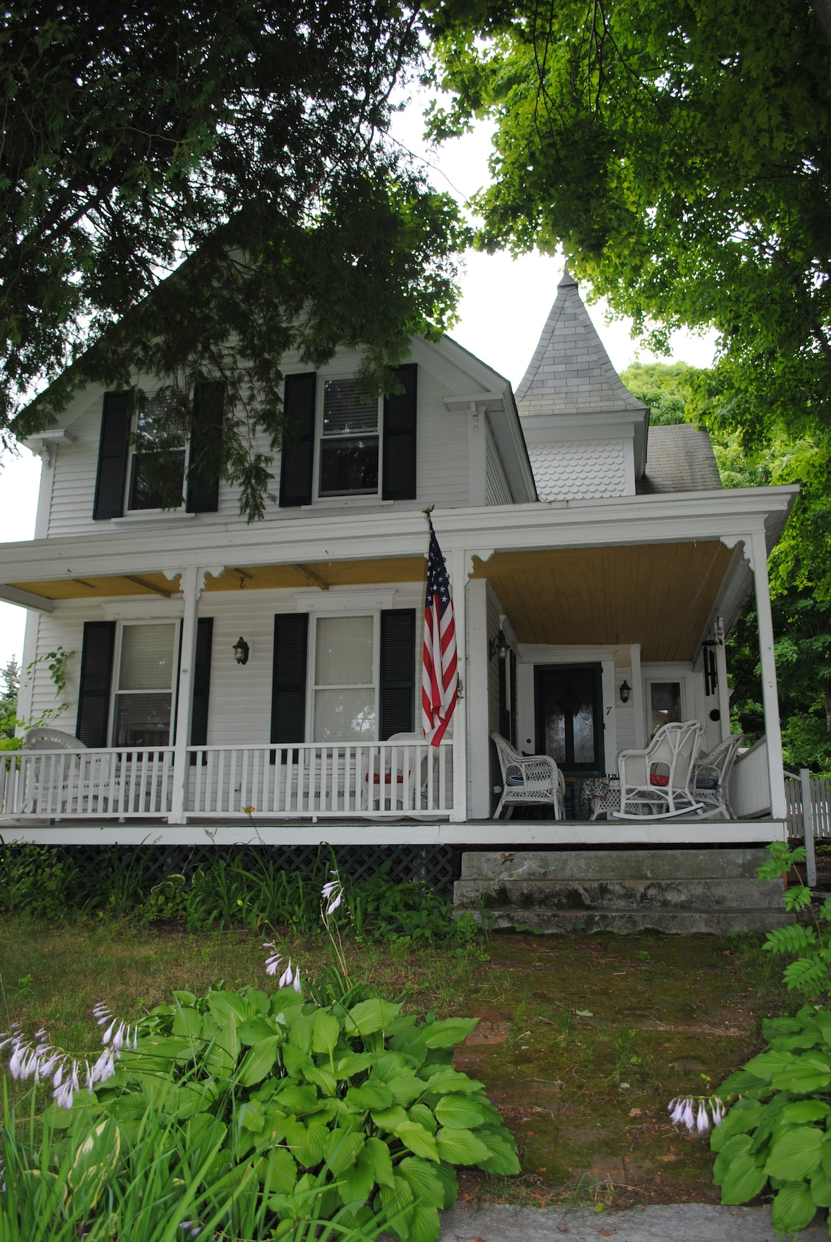 Classic New England Village Home