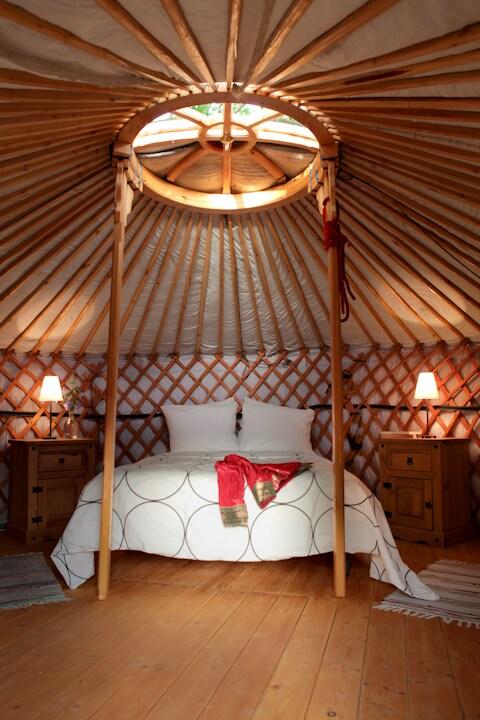 Yurt for 2 - Cortes de la Frontera