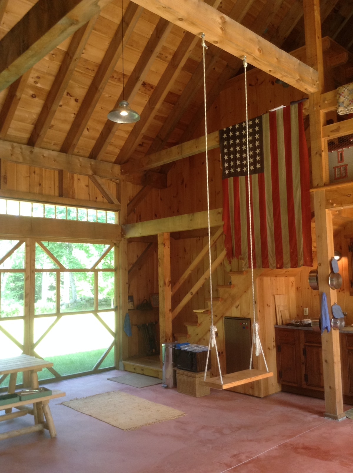 Post and Beam Guest Barn