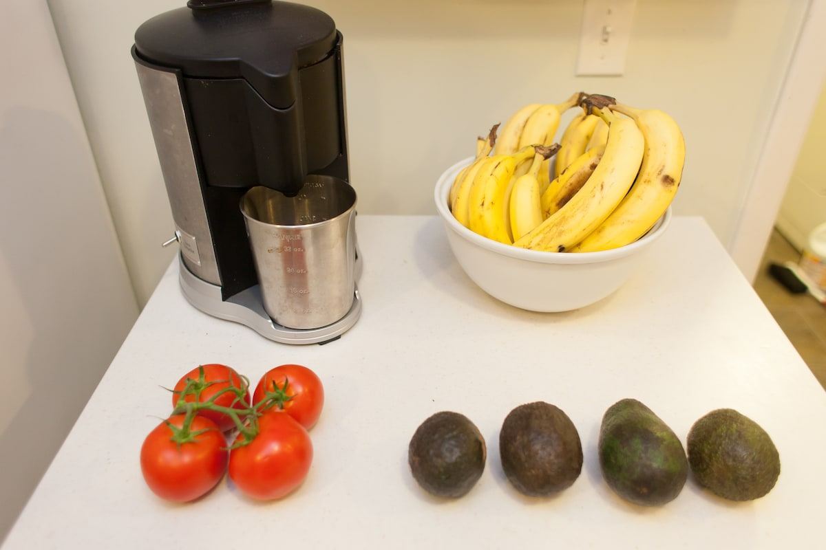 15-pound espresso maker, juicer and gas stove are all for your use, as is laundry.