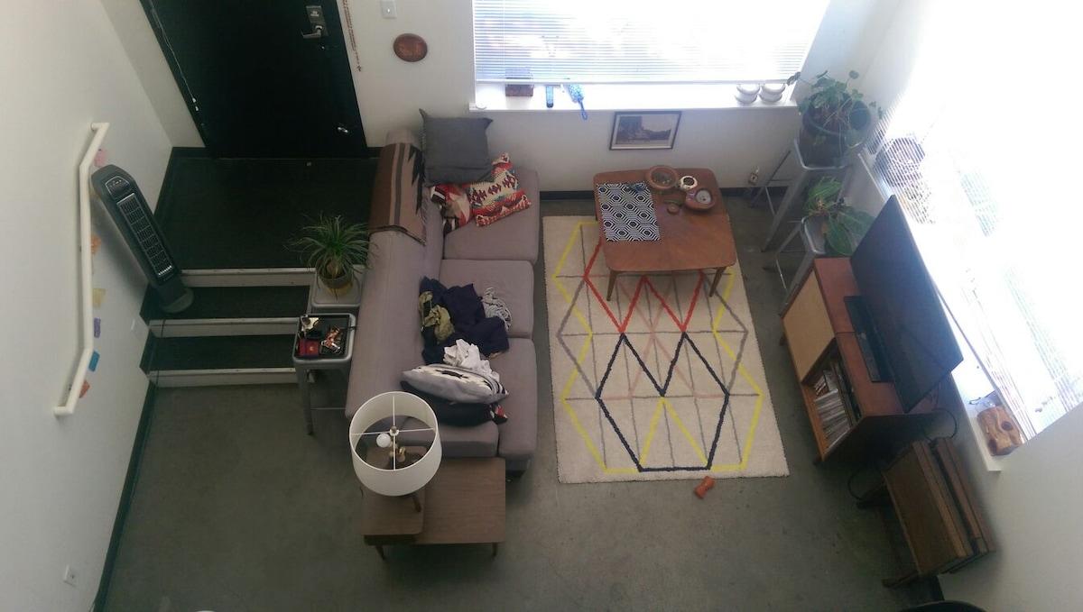 Modern loft in the Heart of Seattle