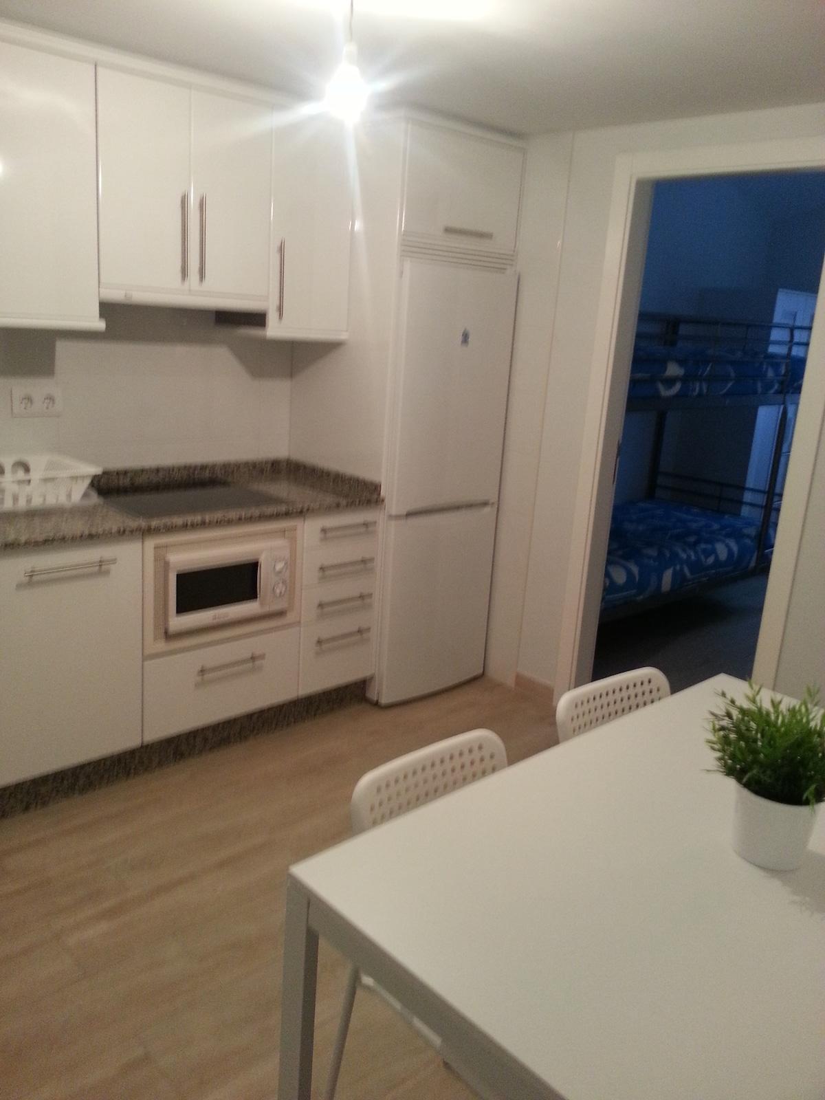 apartamento coruña  40 metros playa