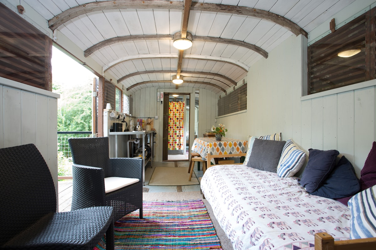 HOLIDAY IN A GWR RAILWAY CARRIAGE!