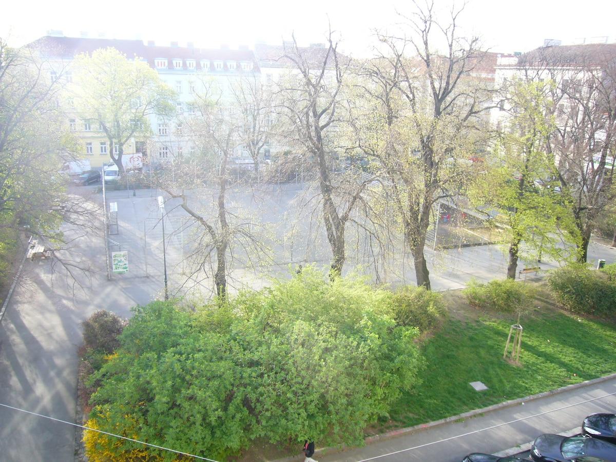 main view - ausblick vom wohnzimmer