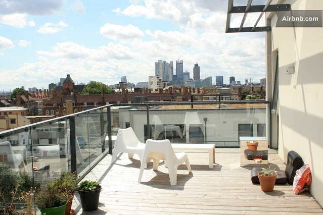 penthouse roof terrace n shoreditch