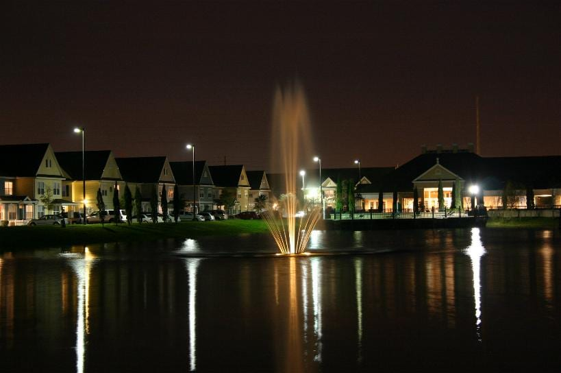 BEAUTIFY LIGHTED WATER FOUNTAIN