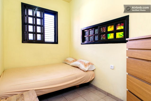 A small private room in Ramat Gan