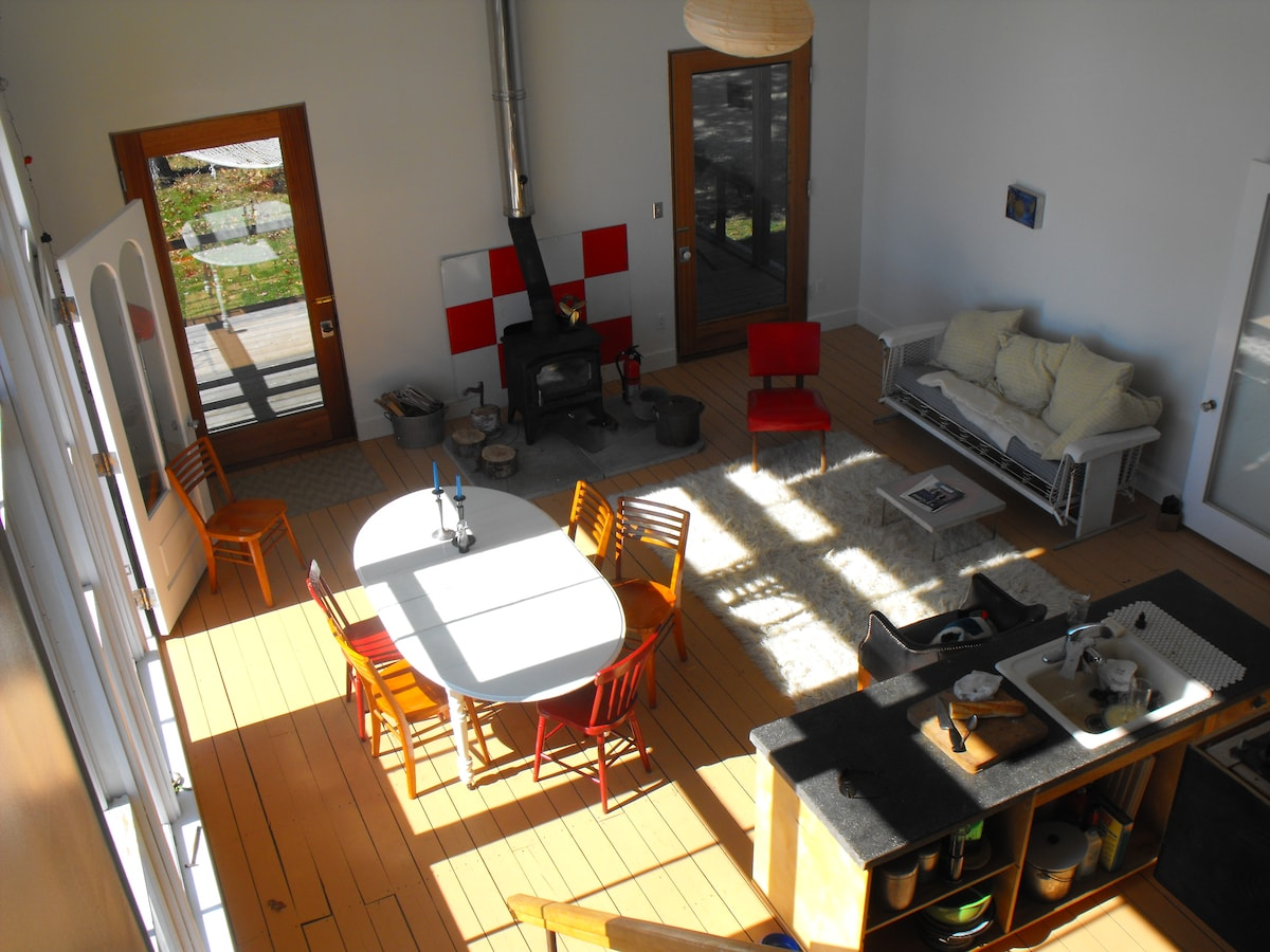 overview from loft