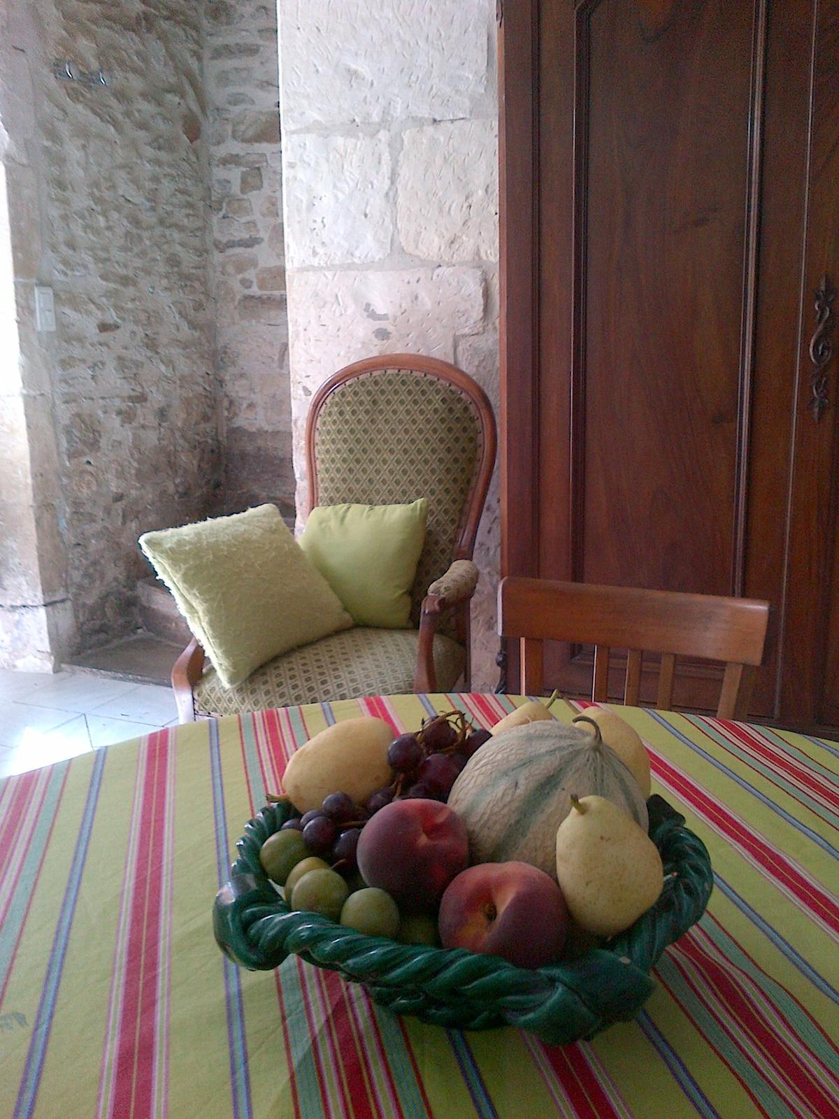 Les fruits des marchés de Provence /Beautiful fruit from local markets