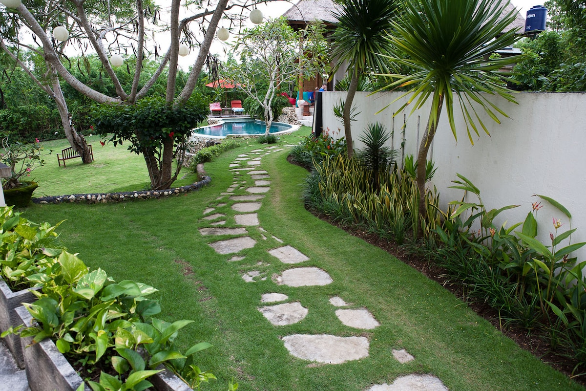 The Pathway to Villa Ruby