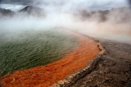 Sulphur Lake in Rotorua
