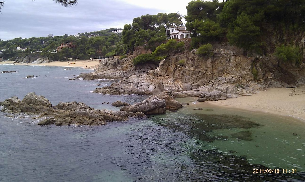 Spain,Costa Brava on the beach