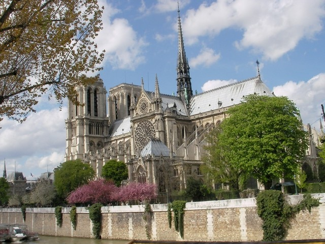 Taken just steps from my door.  Living just across from Notre Dame, getting views of the Great Lady and good photos is assured.  And you awaken every day to the bells of Notre Dame... (if you sleep till noon.)