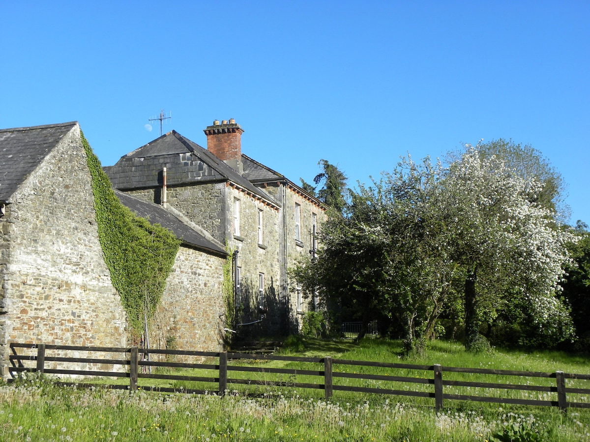 Side view of house