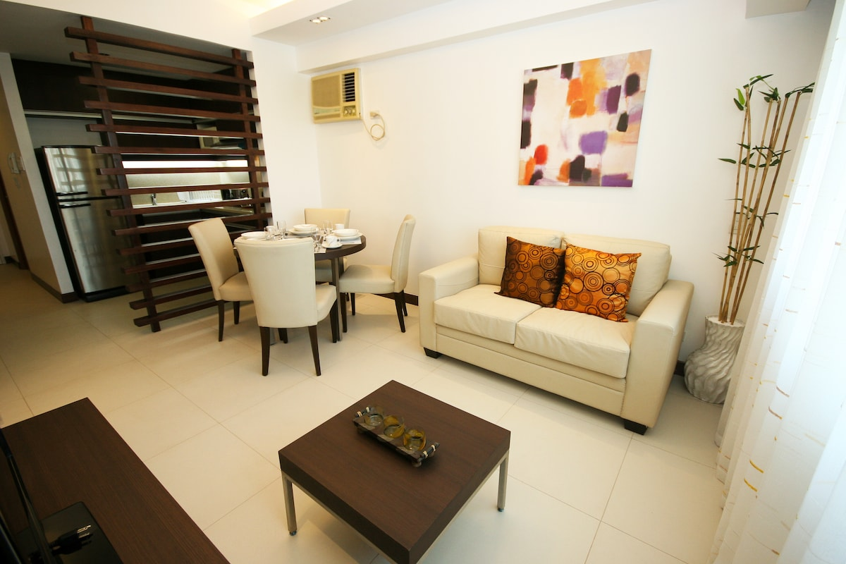 New Interiors, Fully Furnished 2BDRM Condo Unit